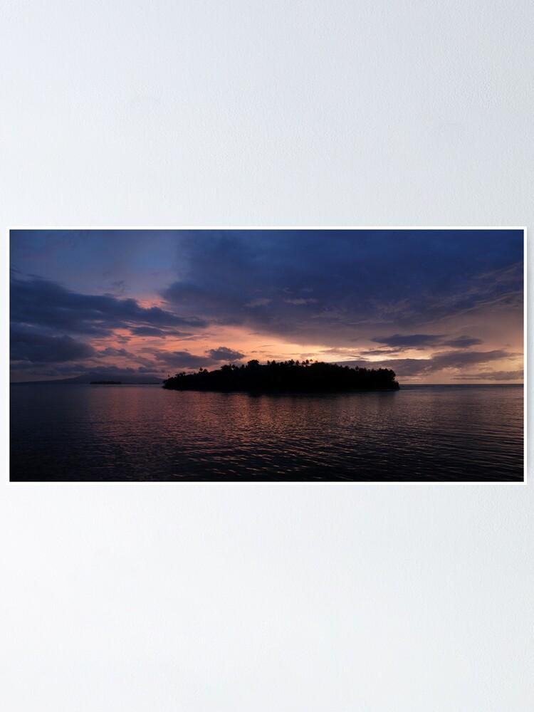 Alternate view of Vona Vona Sunset I Poster