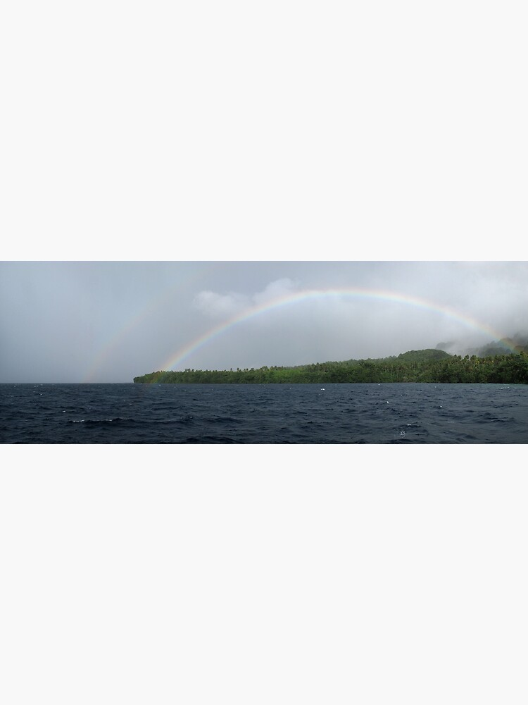 Rainbows at Tetepare by neoniphon