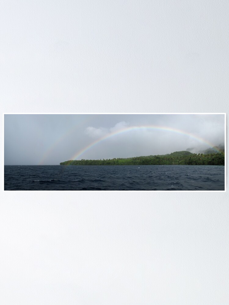 Alternate view of Rainbows at Tetepare Poster