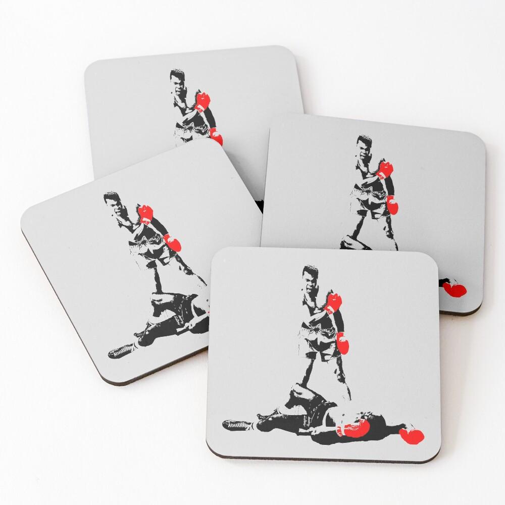 Muhammad Ali Coasters (Set of 4)