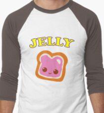 Couple - (Peanut Butter &) Jelly Men's Baseball ¾ T-Shirt