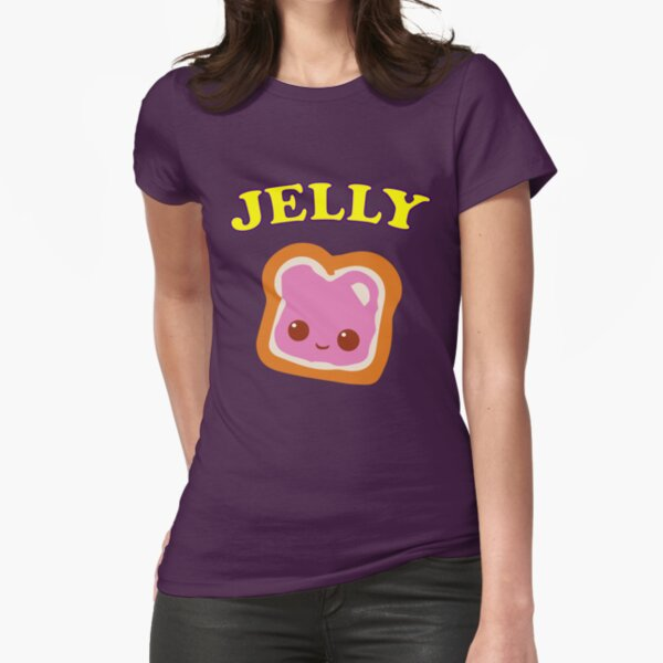 Couple - (Peanut Butter &) Jelly Fitted T-Shirt