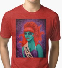 Miss Argentina Tri-blend T-Shirt