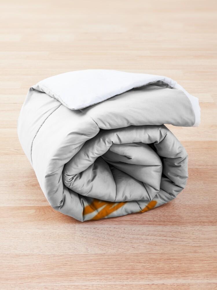 Alternate view of Jason thunderburker and potsfield pumpkin Comforter