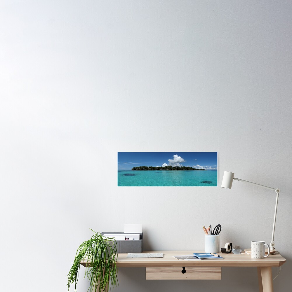 Midday at Nusatupe Island Poster
