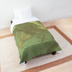 Light Green Fluid Comforter