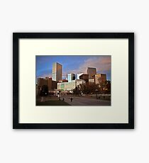 Denver Afternoon Framed Print