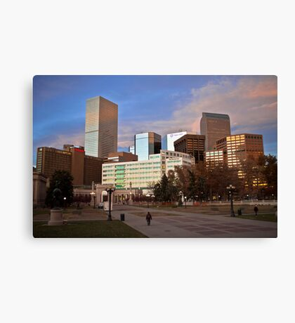 Denver Afternoon Canvas Print