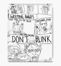 Weeping Angel Comic iPad Case/Skin