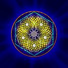 Sacred Geometry 6 by Endre