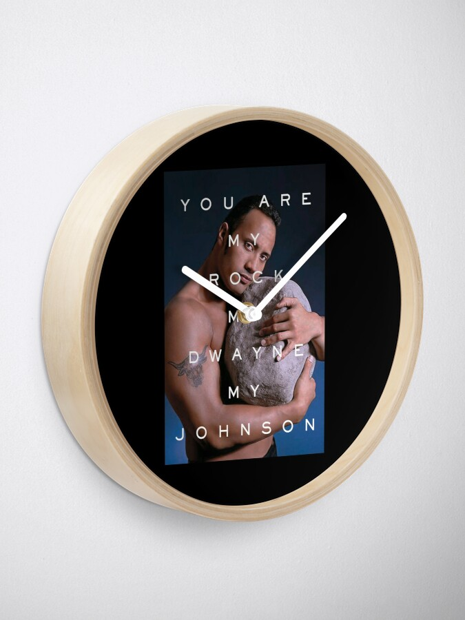 Alternate view of You Are My Rock Clock