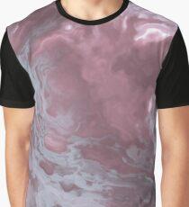 Contemporary Fluid Graphic T-Shirt