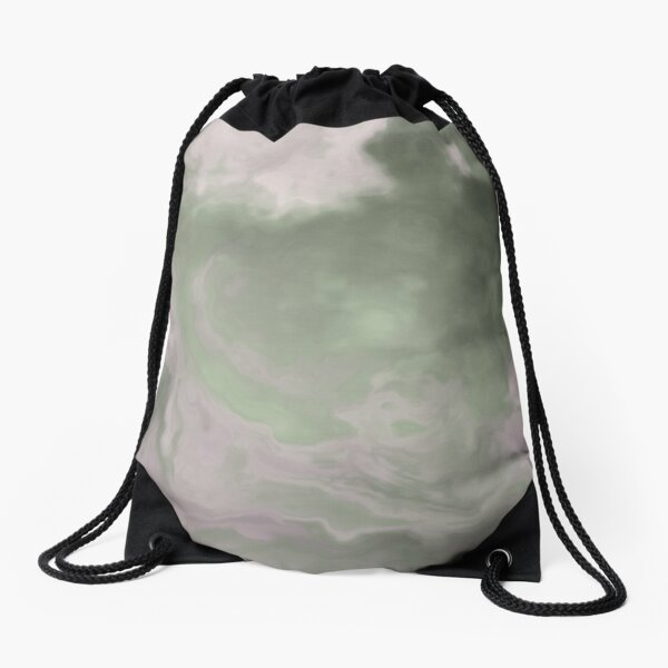 Edgy Fluid Drawstring Bag