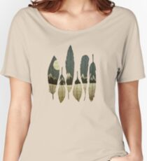 The Birds of Winter Women's Relaxed Fit T-Shirt