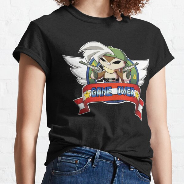 Bunny GAME OVER Classic T-Shirt