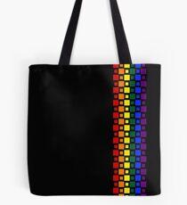 Pride Squares Vertical Tote Bag