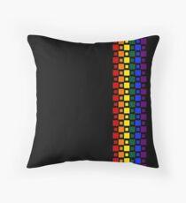 Pride Squares Vertical Throw Pillow
