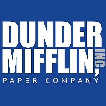 Dunder Mifflin Paper Notebook by chrissy42
