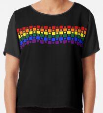 Pride Squares Chiffon Top