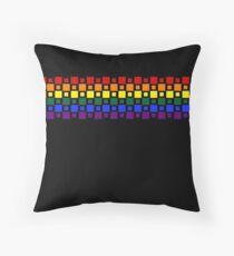 Pride Squares Throw Pillow