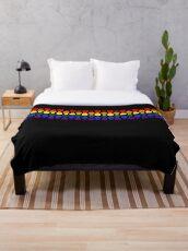 Pride Squares Throw Blanket
