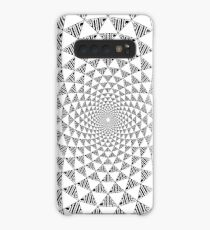 Stoic Flower - Black & White Case/Skin for Samsung Galaxy