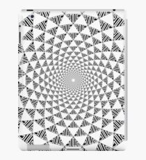 Stoic Flower - Black & White iPad Case/Skin