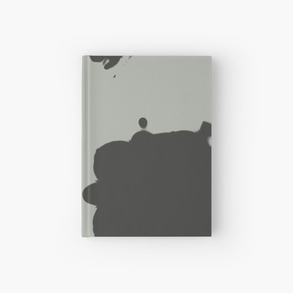 Minimal Blotches Hardcover Journal