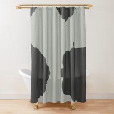 Minimal Blotches Shower Curtain