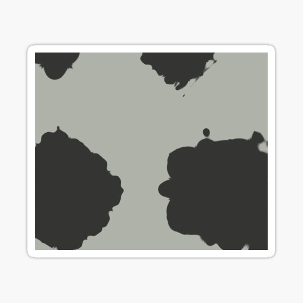 Minimal Blotches Sticker