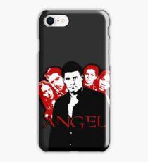 Angel Investigations: Black & Red iPhone Case/Skin