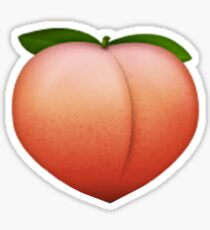 Peach Emoji Sticker