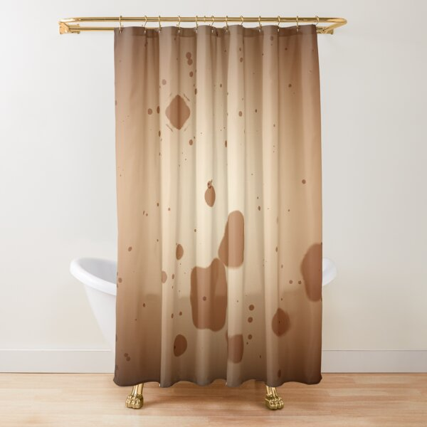 "contemporáneo líneas suaves borrosa Art Print 71/"" Moderno Abstracto de Cortina de ducha"