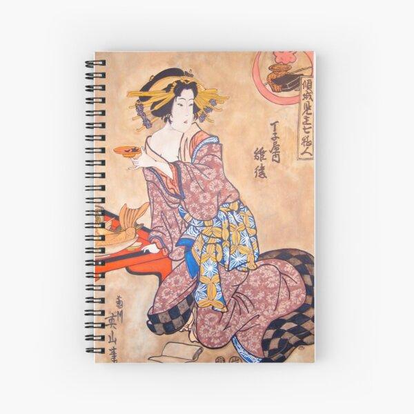 Sipping Sonda Spiral Notebook