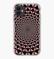 Stoic Flower - Red White iPhone Case