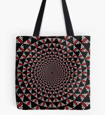 Stoic Flower - Red White Tote Bag