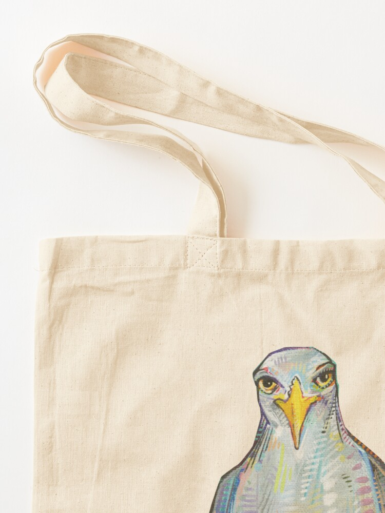 Alternate view of Gull on blank background Tote Bag