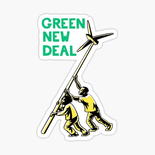 Green New Deal - AOC Sticker