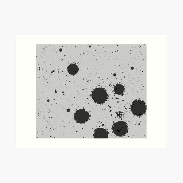 Pun Blotches Art Print
