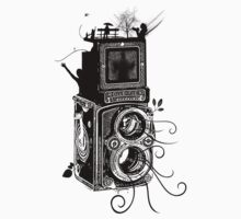 Retro Rolleiflex - Evolution of Photography - Vintage