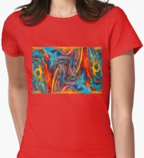 Heartsong Womens Fitted T-Shirt