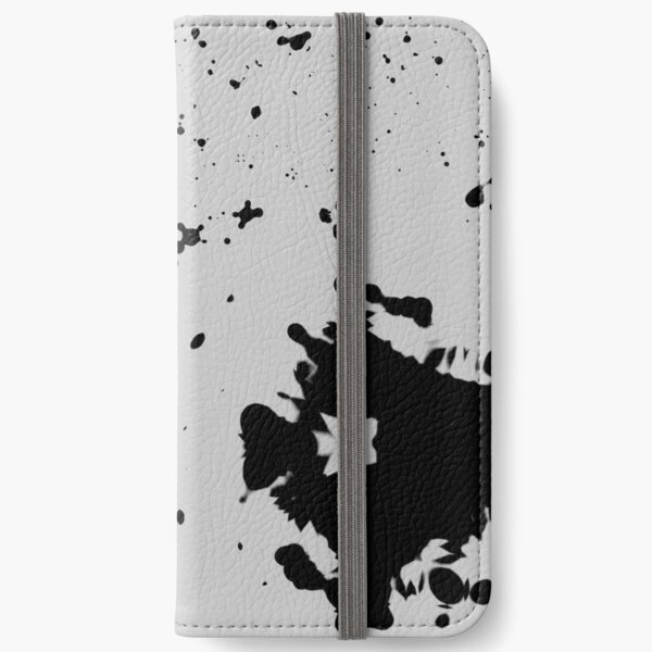 Dimgray Blotches iPhone Wallet