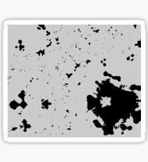 Dimgray Blotches Sticker
