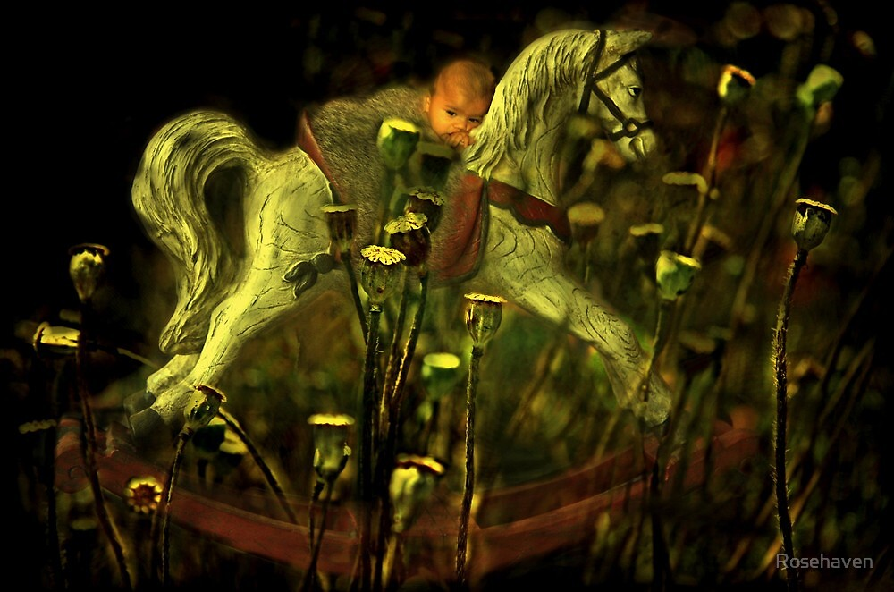 """""""Rocking My Baby to Dream Land ..."""" by Rosehaven"""