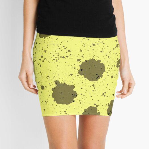 Stylish Blotches Mini Skirt
