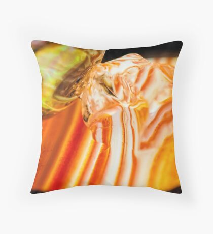 Kiss Your Ghost Throw Pillow