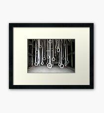 Hoops Framed Print