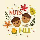 Nüsse über den Herbst von jsongdesign