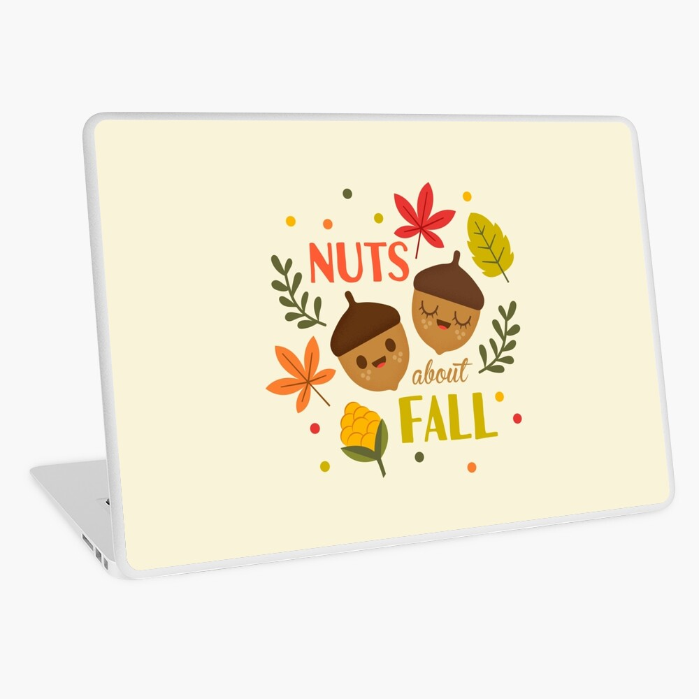 Nuts about Fall Laptop Skin
