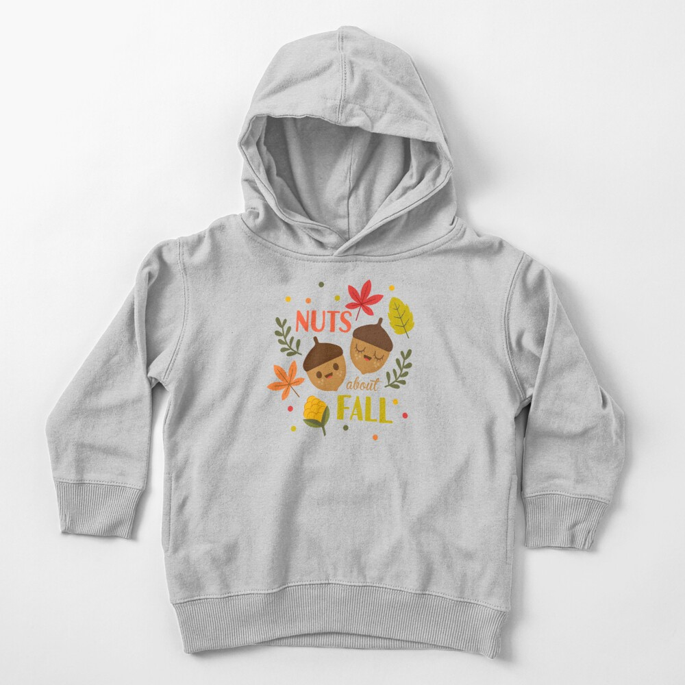 Nuts about Fall Toddler Pullover Hoodie